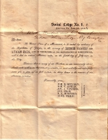 1848 Dedication to Declaration of Independence Signers in Augusta, Georgia