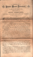 1868 Powers Masonic Publications Sales Flyer 1